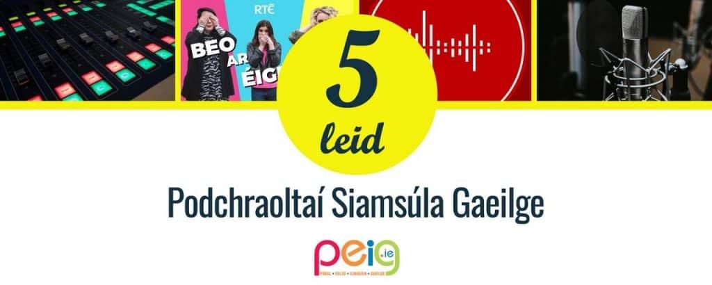 Podchraoltaí Siamsúla Gaeilge
