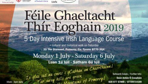 Féile Gaeltachta Tír Eoghain 2019
