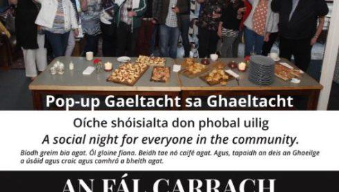 Pop Up Gaeltacht sa tSeanbheairic