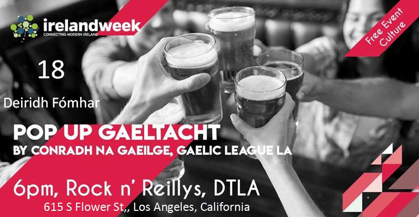 Pop Up Gaeltacht - Los Angeles