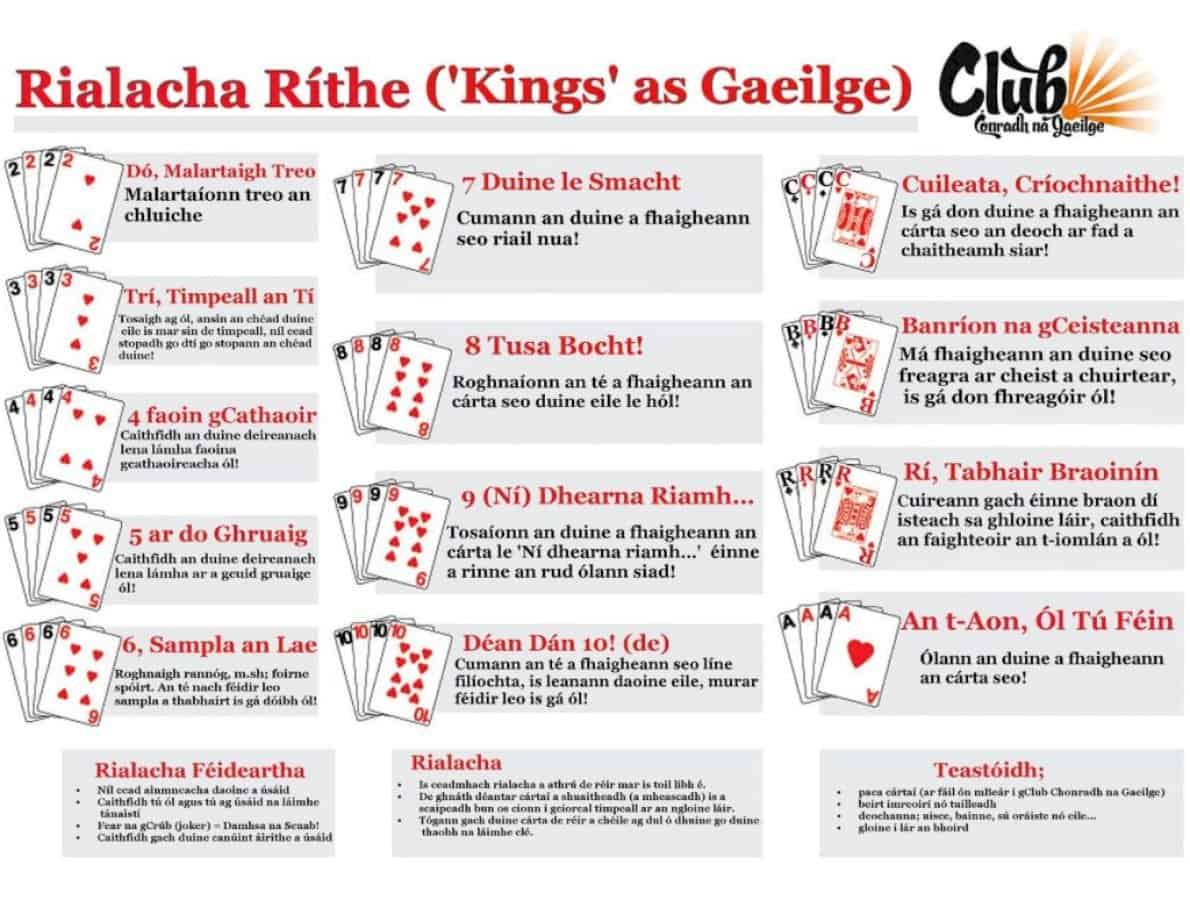 Ná bac Cluiche na Corónach – an bhfuil Cluiche na Ríthe agat?
