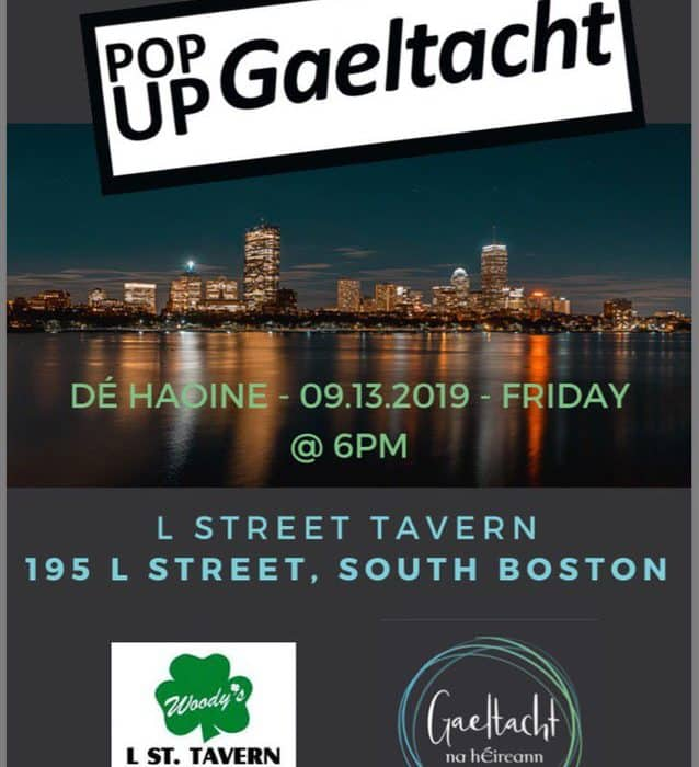 Pop Up Gaeltacht - Bostún