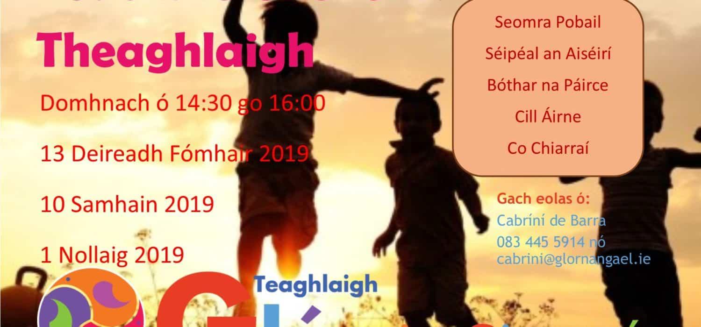 Teaghlaigh ag Teacht le Chéile i gCill Áirne