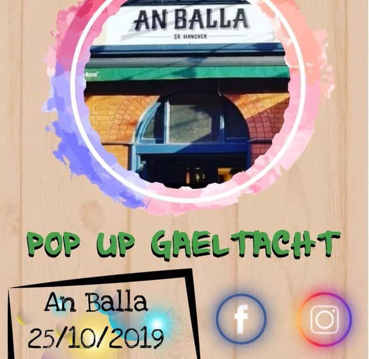 Pop Up Gaeltacht - Corcaigh (An Balla)