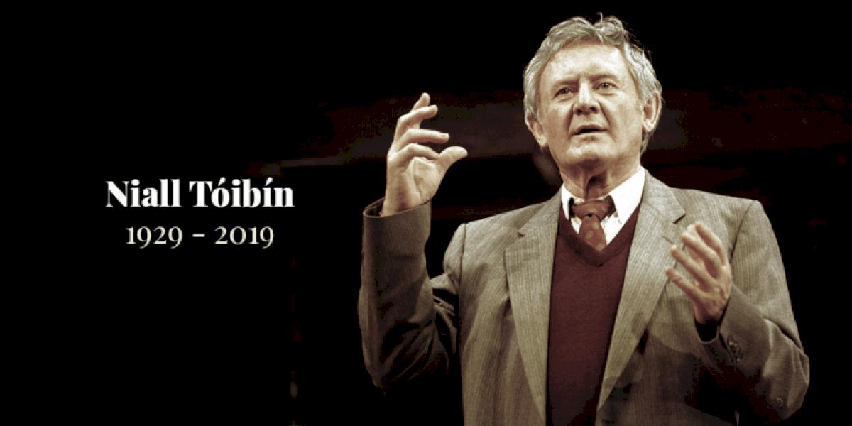 NIALL TÓIBÍN 1929-2019: Aisteoir agus fear grinn cumasach arbh léir 'a ghrá' don Ghaeilge