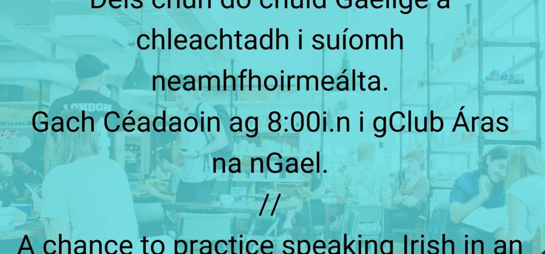 Club Cainte na Gaeilge