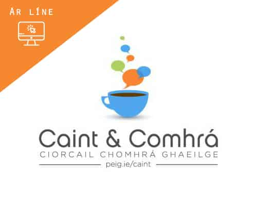 Ciorcal Comhrá | Ar líne - Leabharlann Inis Ceithleann (Céadaoin)