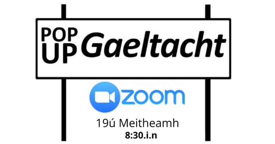 Pop Up Gaeltacht - sa bhaile
