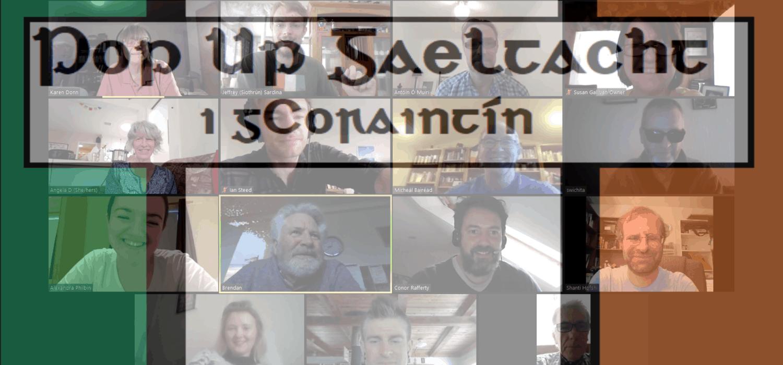 Pop Up Gaeltacht i gCoraintín