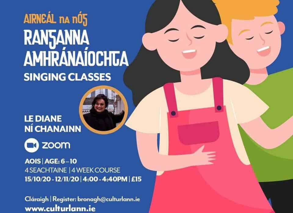 Ranganna Amhránaíochta le Diane Ní Chanainn