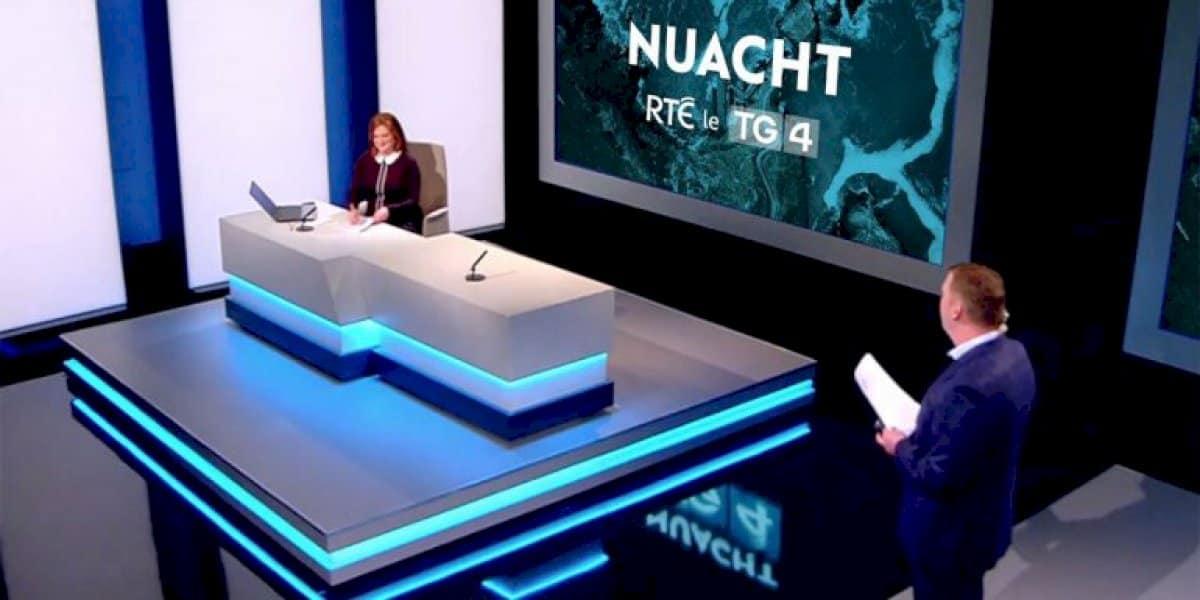 Geallúint ar bith ag TG4 ná ag RTÉ go ndéanfar tuilleadh infheistíochta in iriseoireacht na Gaeilge