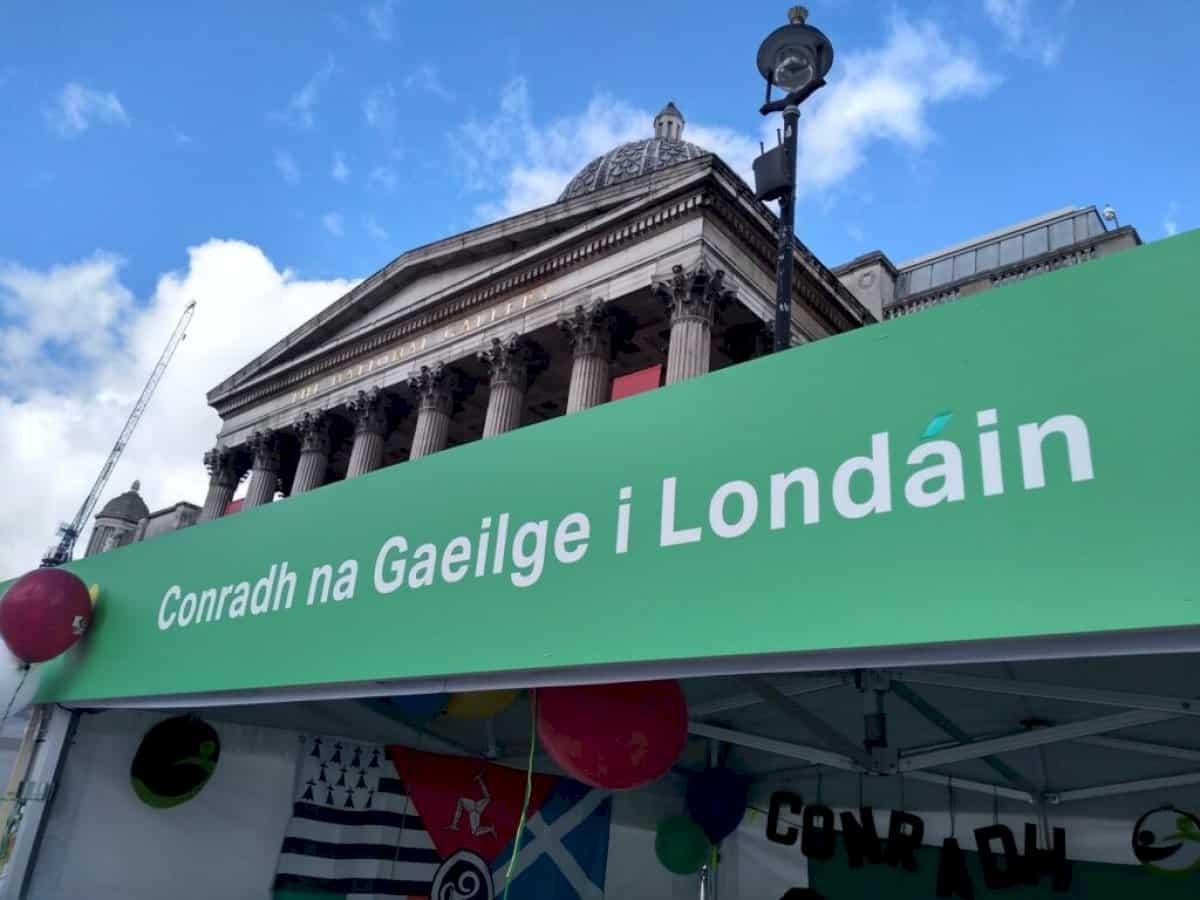 Ceiliúradh mór beartaithe agus CnaG Londan 125 bliain ar an bhfód